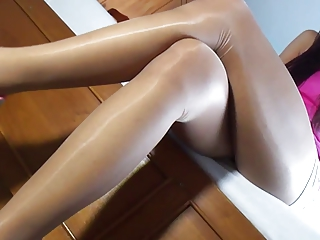 Asian pantyhose joshing