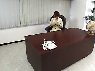 Japanese Lady Boss Frying at the Office-by PACKMANS