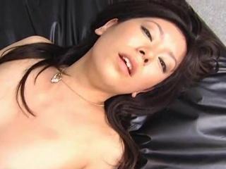 Smut Satomi Maeono bumped onto dramatize expunge bed