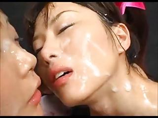 Bukkake bath japan