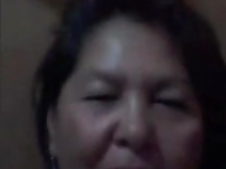 Aged Bella 65 from Philippines fucking on Skype