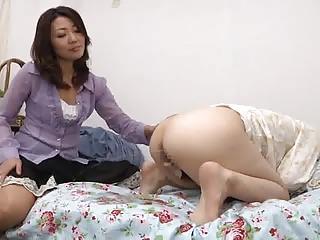 punished adjacent to spanking and enema