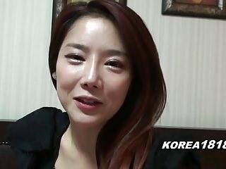 KOREA1818.COM - Hot Korean Girl Filmed for Copulation