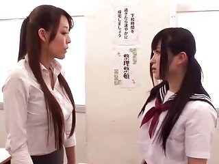 Asian Schoolgirl Gives Trainer a Lesson