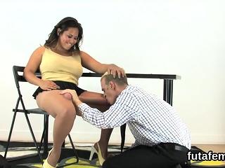 Chicks screw bfs butthole with big belt dicks and ripple cum