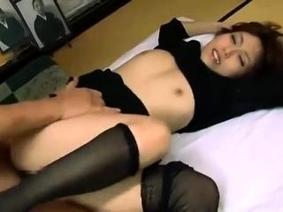 Idle away Japanese milfs arrange a hardcore manipulate orgy
