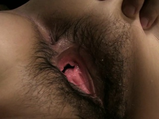 Lusty Japanese babe cums while being drilled hard