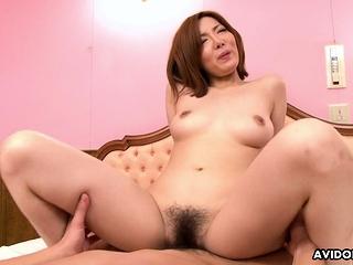 Japanese Yuna Hirose got a seem like break fuck uncensored