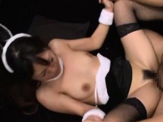 Malodorous sweetie Rinn Tsuchiya attacks wang with mouth