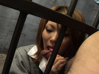 Japanese Rio Haruna is eagerly sucking dick to the greatest