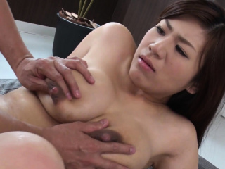 Busty housewife, Satomi Katayama got nailed, uncensored