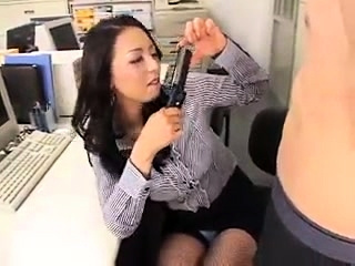 Asian cfnm blowjob amateur cock gagging