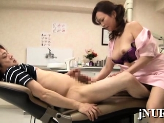 Japan nurse stem-post aggravation for sex increased by tries a large one