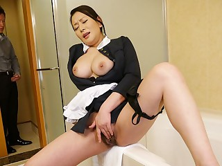 Rei Kitajima in Unfortunate maid Rei Kitajima putrefacient masturbating - JapanHDV