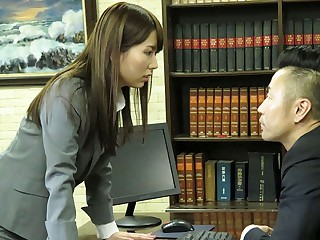 Yui Hatano Resolves Problems With A Blowjob - JapanHDV
