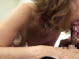 Japanese 70years old granny fucked