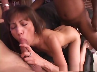 Horny pornstar in best brunette, chunky tits porn scene