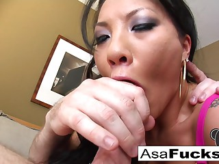 Asa Akira in Superstar Asa Is Wind For The brush Sloppy Bj's - AsaAkira