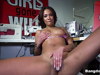 London Tisdale involving London Cums After a long time Sewing - BangBros