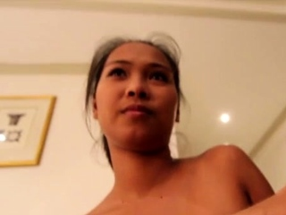 Aromatic nipponese Angela blows and gets fingered