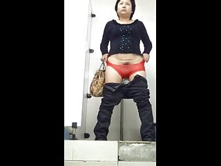 Spy Hairy Asian Mature