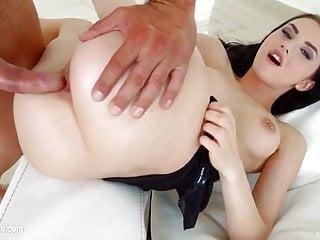 Teen girl fucked hard (anal sex)