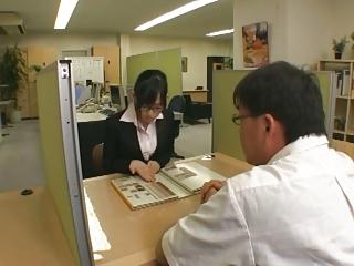 Haruka Motoyama - Office Son Intercourse Servant (Part 3 of 4)